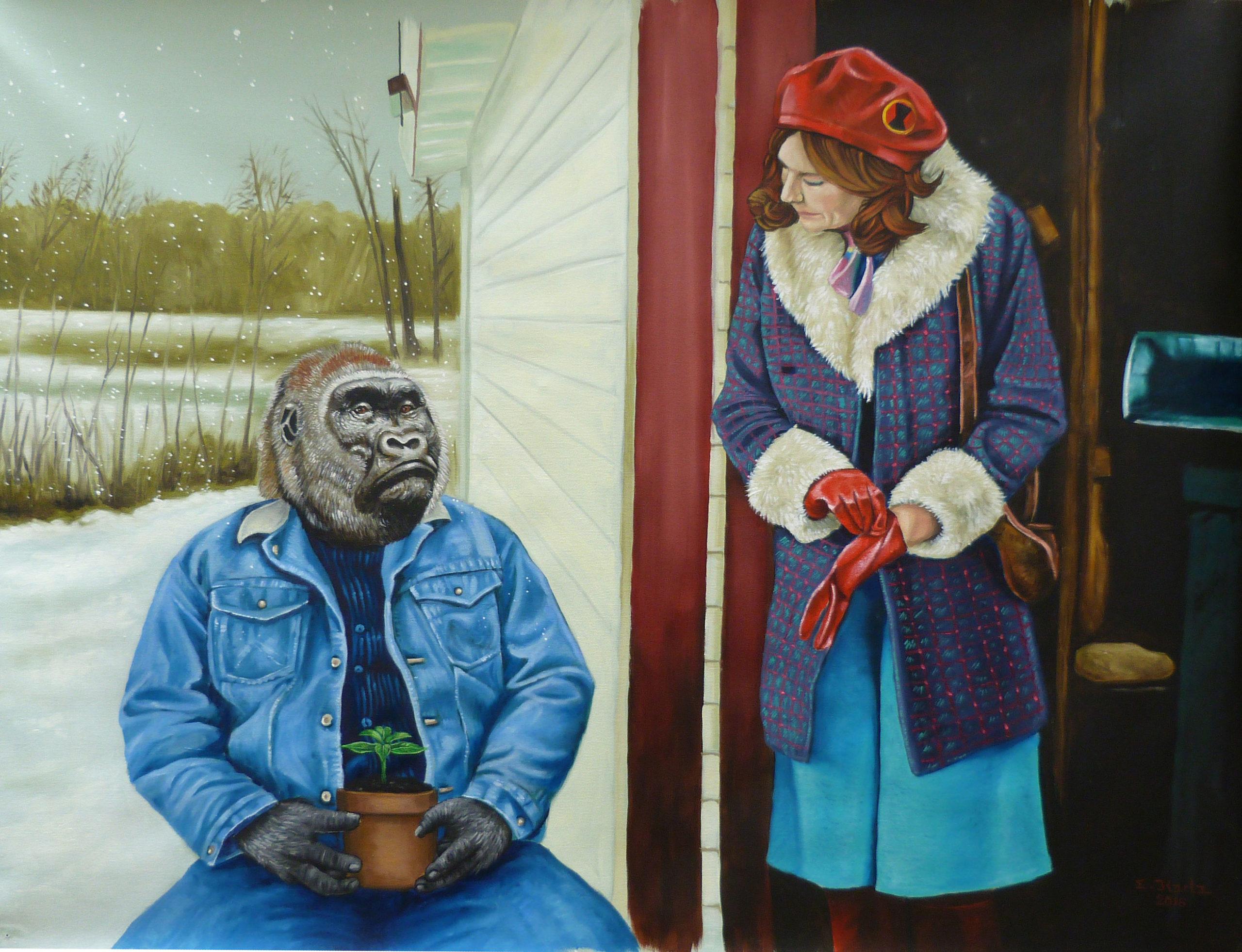 Gorillaman & Black Widow