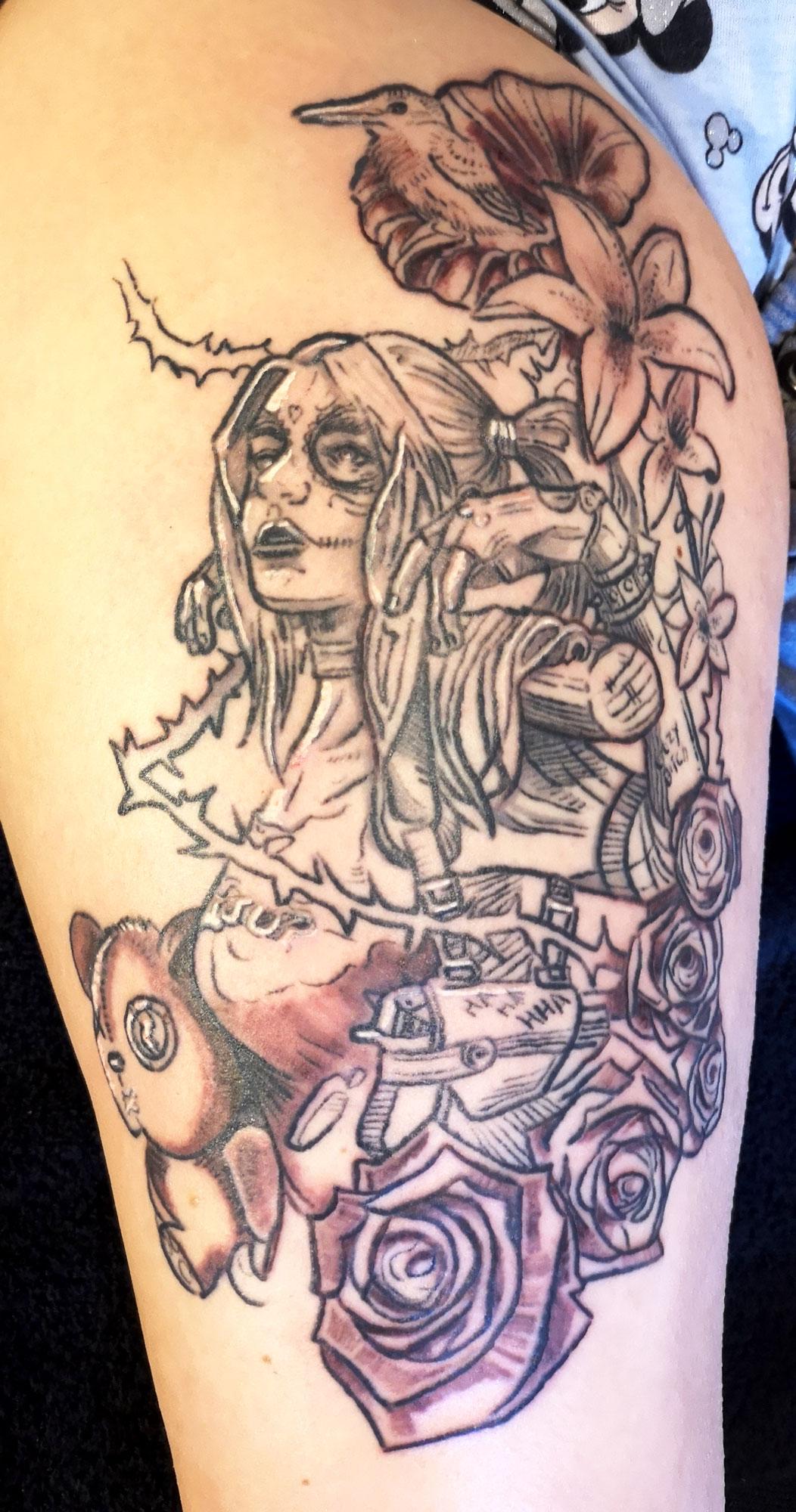 Tattoo Harelquin Elmar Karla
