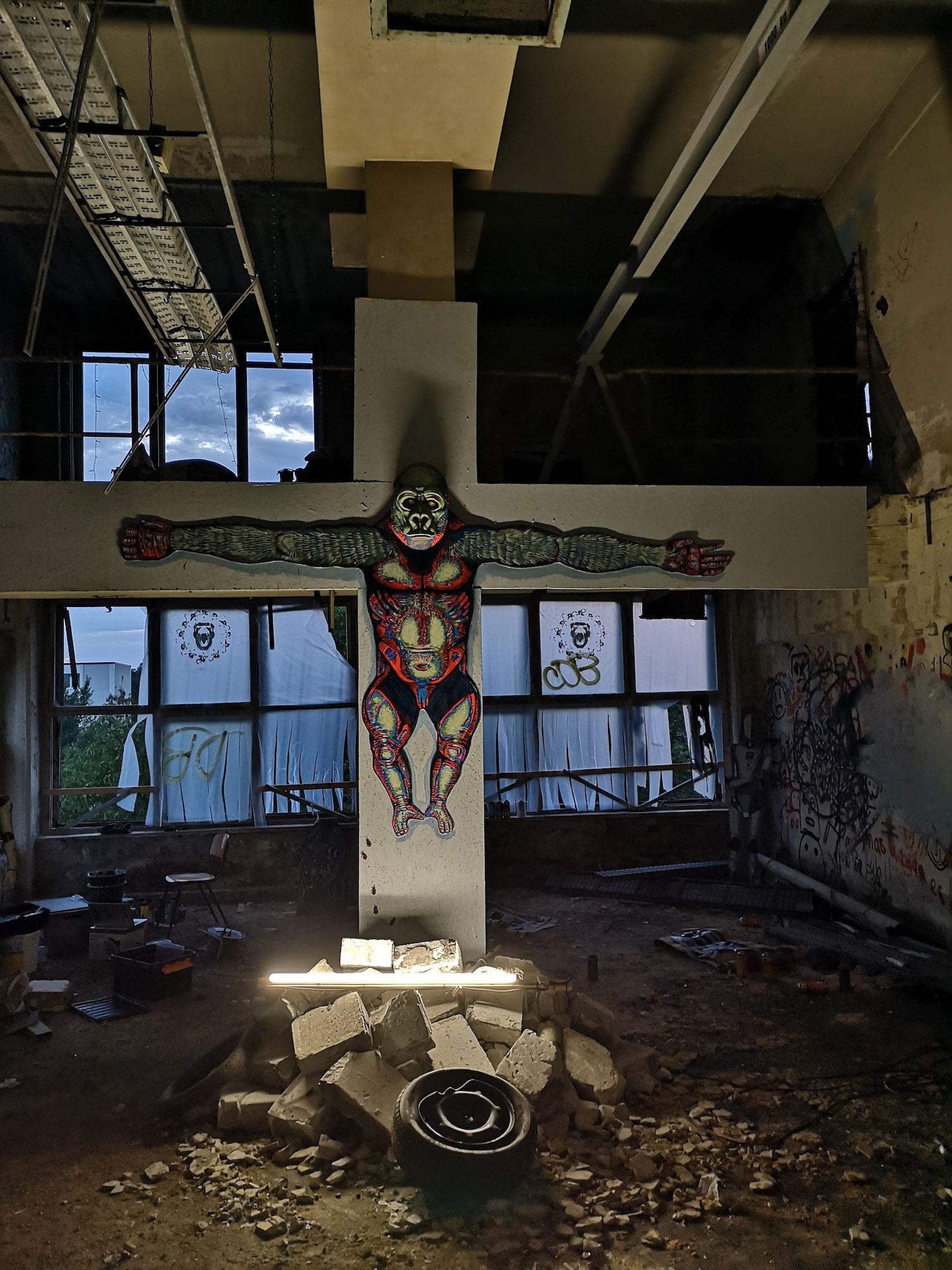 Dystopia Installation Detail